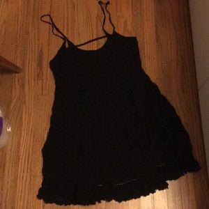 Surf Gypsy Black Jada Dress Large